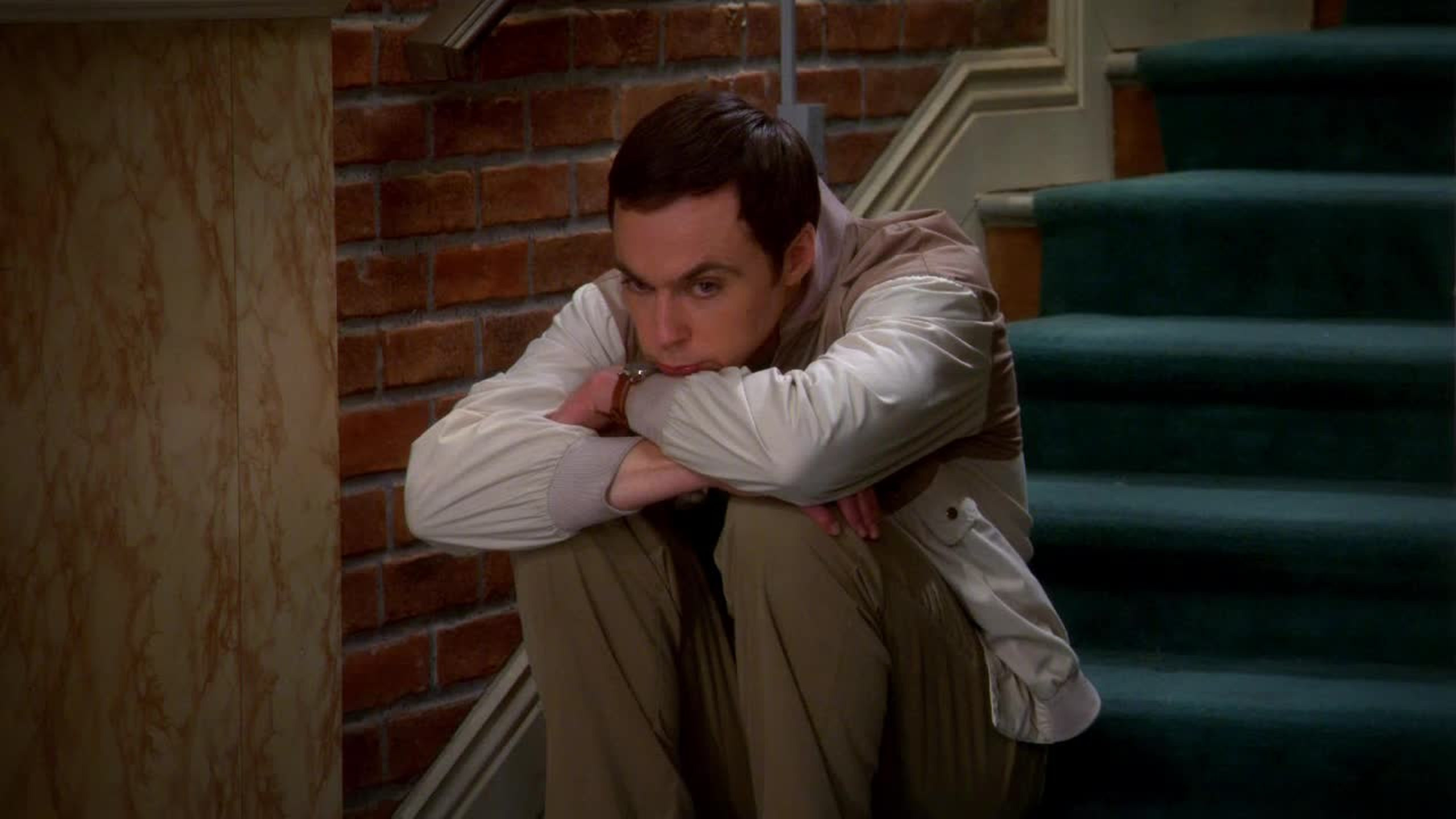Sheldon puppy's eyes <3 <3 <3 <3 <3