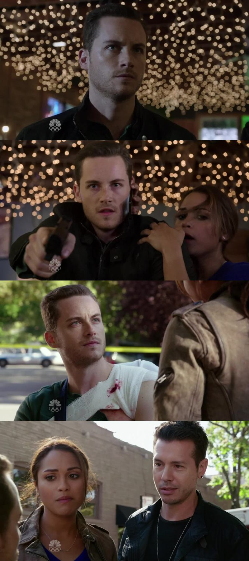 Just got back to those incredible moments on Chicago Fire ♥ Absolutely love Linstead, but I miss Gabby and Jay working together ;) #TeamWork