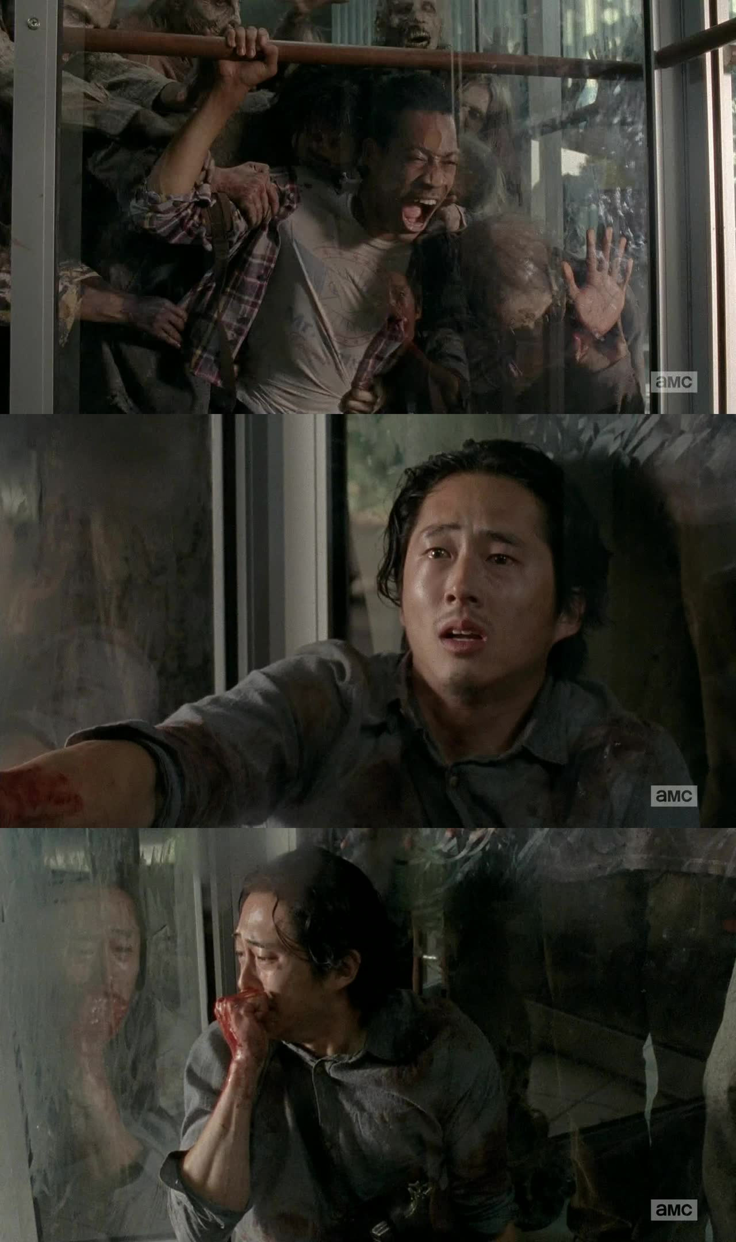 This episode was so crazy. Dont even know where to start. at first there was some hope. Then slowly things started to happen.  I mean. the look on Glenn's face when Noah died. So sad!
