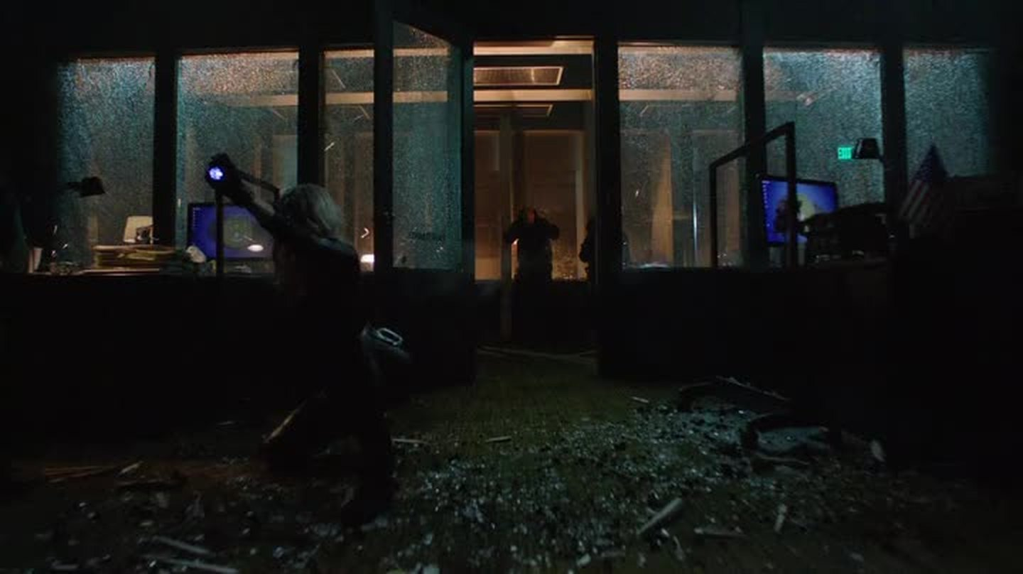 why wasn't Arrow affect by the sound blast?