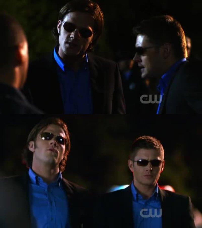 Am I watching Supernatural or CSI Miami?