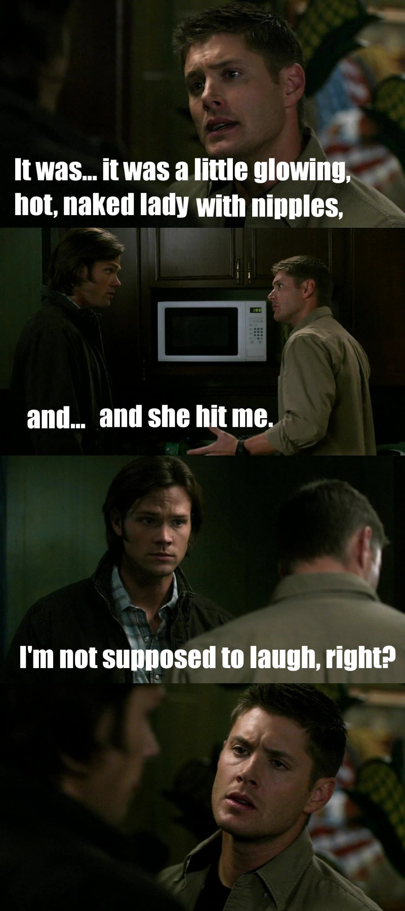 soulless sam is fudging hilarious! and the ep aswell :'D