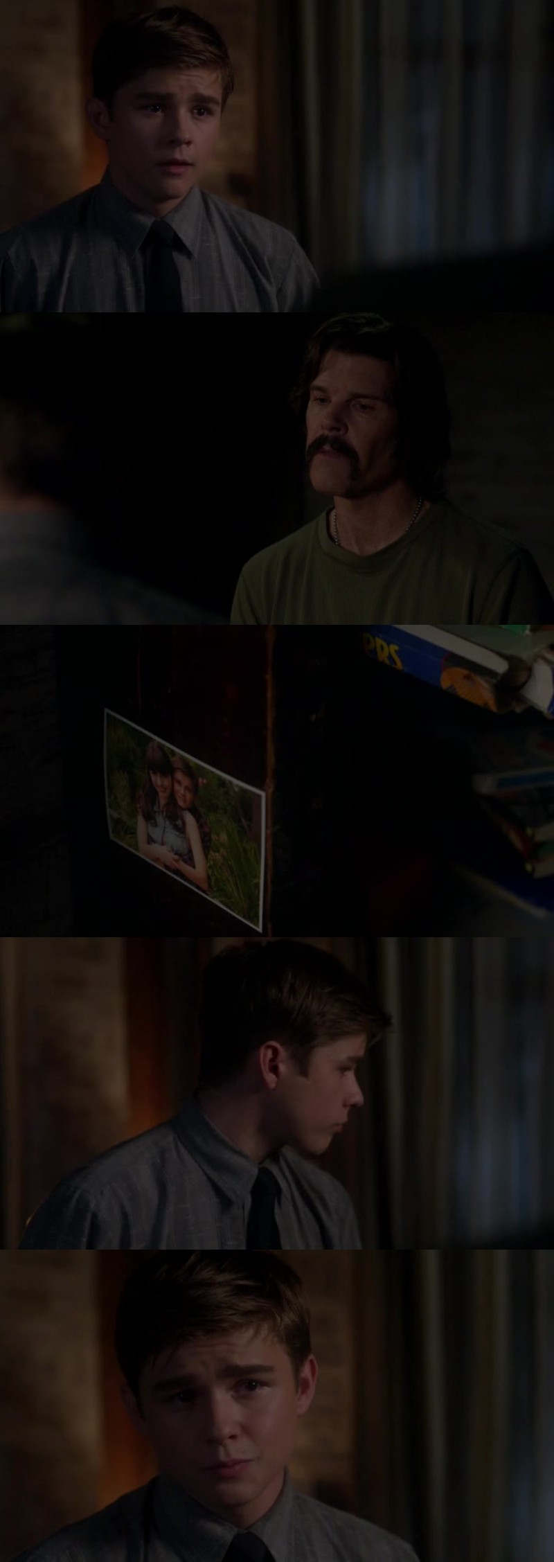 This broke my heart.. Dean was happy with a normal life.. He didn't want to be a hunter..