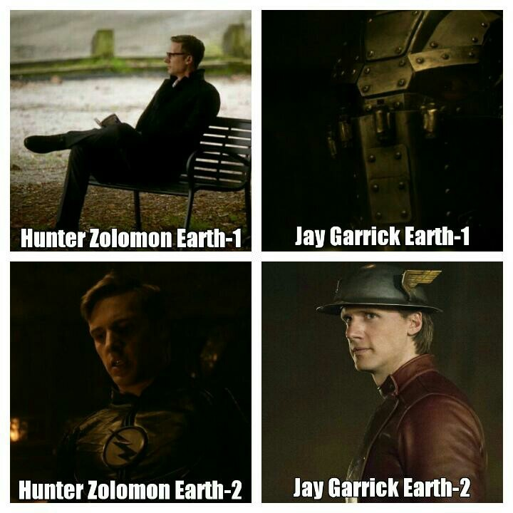 Every new episode comes with the new theories 😃 Here is my newest one: *Jay Garrick and Hunter Zolomon are actually twin brothers.  *They separated as they are baby and 're grown by different families.(Garricks-Zolomons)  *Unless there are other parallel universes, this is best I can think😃