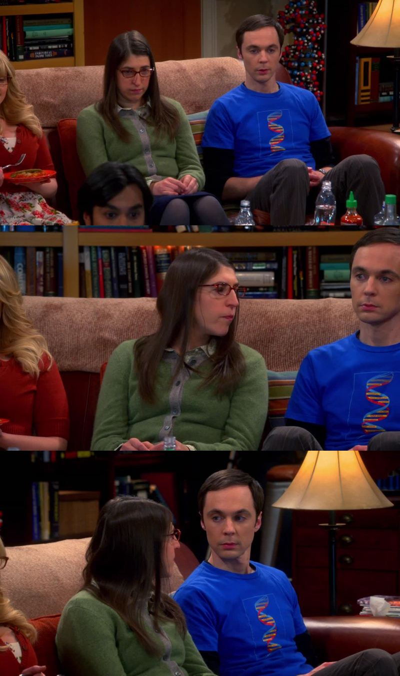 Sheldon: non so tu... Ma io mi sento a disagio in questa situazione. Amy: Perché? Sheldon: Non ho mai visto questo telefilm e adesso comincio dall'episodio 246... È innaturale. 😂  Sono come Sheldon 🙈