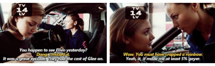 HOW CAN YOU NOT LOVE LESLIE SHAY? LMAO SO SASSY