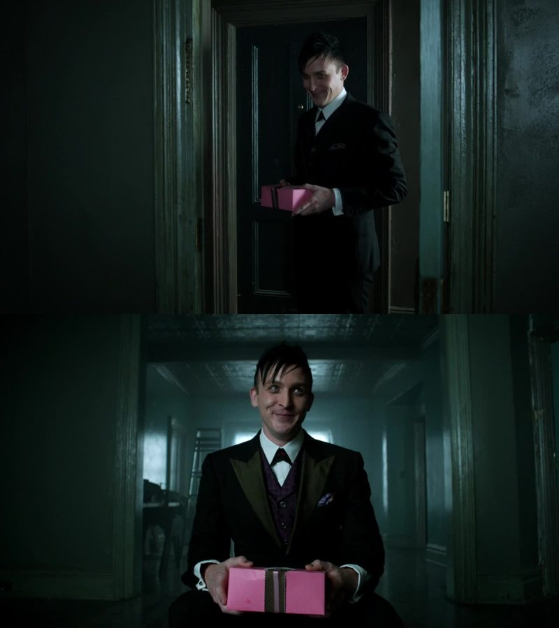 he's so adorable, in a creepy way 😂