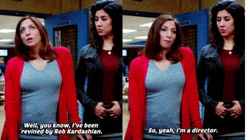 What would the show do without Gina.