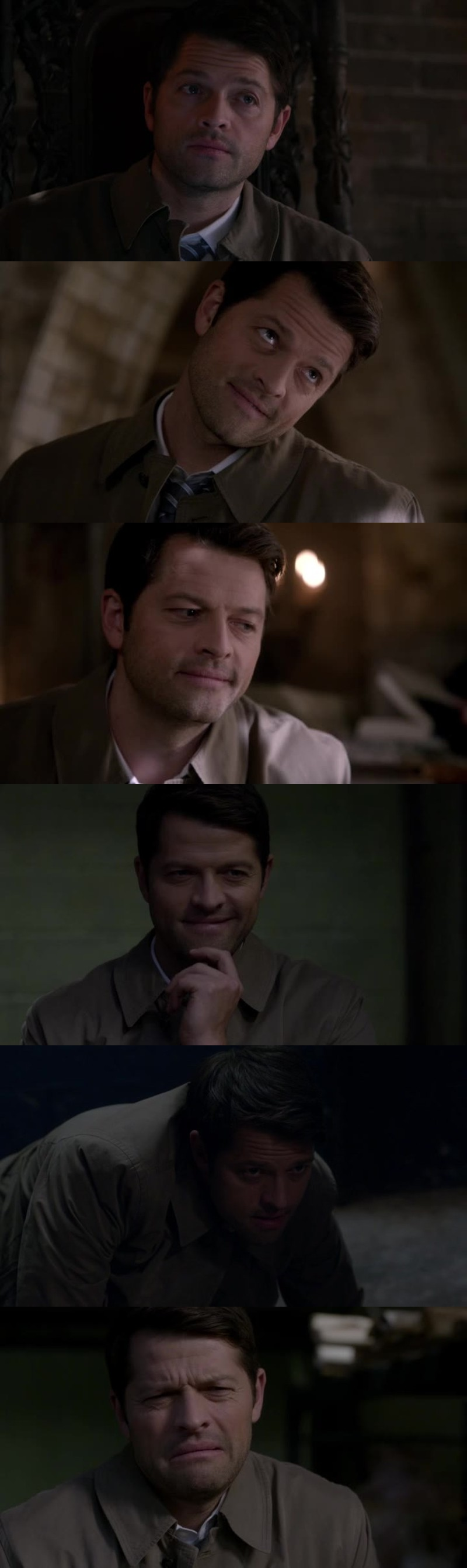 Misha was amazing in this episode