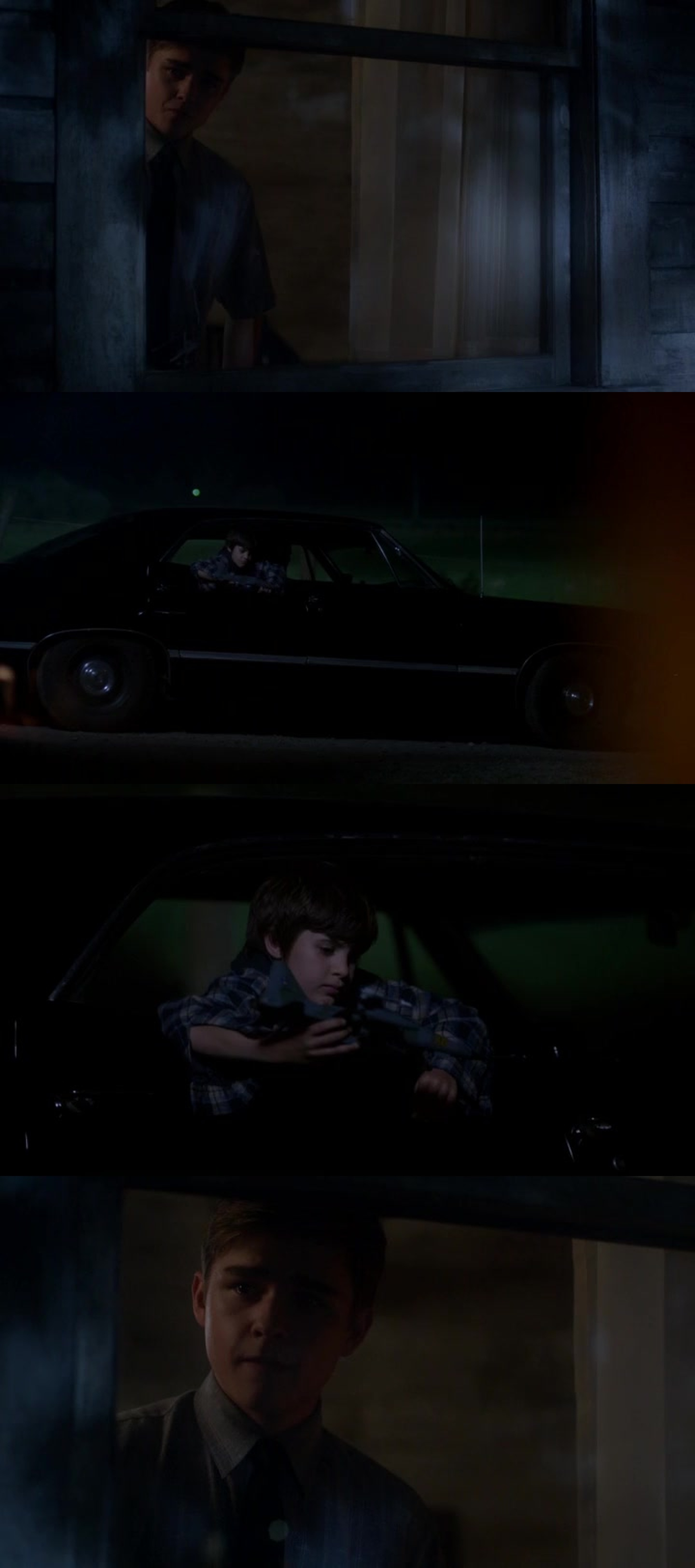 The end broke my heart but the reaction of young Dean when he saw Sam in the car that's the cutest thing ever! He love is little brother so muchhh!! Wow