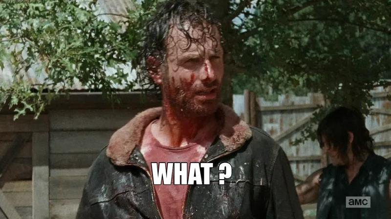 Cette scène était extra Rick est tellement BADASS !