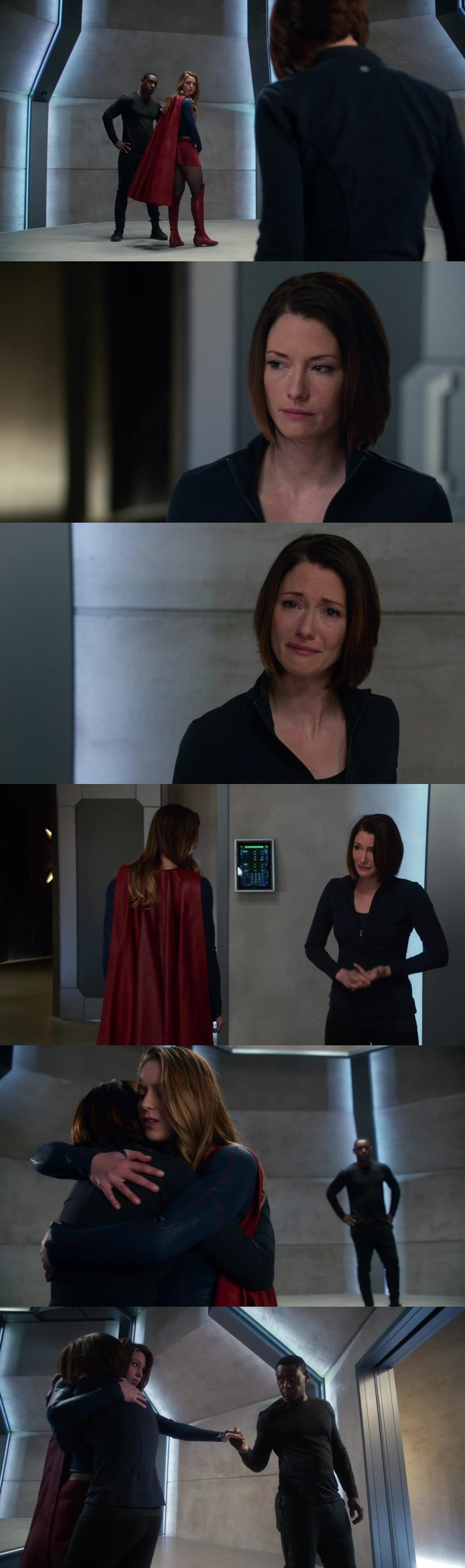 Oh my heart during that scene... Broken into million pieces!! Thank you Kara for just... Just being Alex's sister and being an amazing one. Talk about love after that!