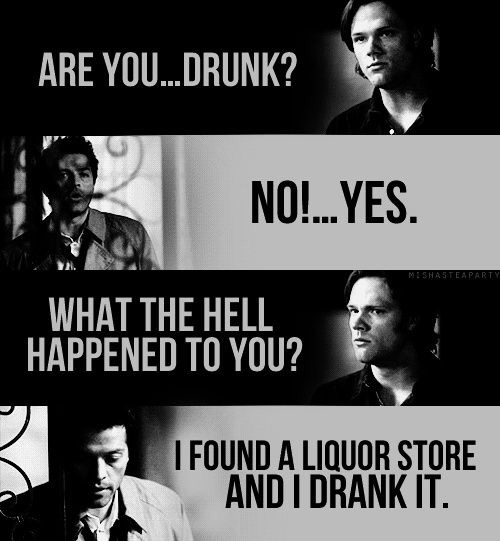 Drunk cas is so funny, I love him 😂❣
