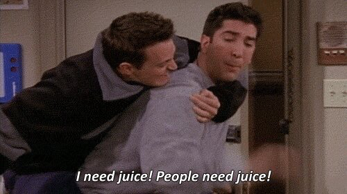 EVERYTIME ROBERT KARDASHIAN CALLS OJ 'JUICE' THAT IS WHAT I IMAGINE:  #friends