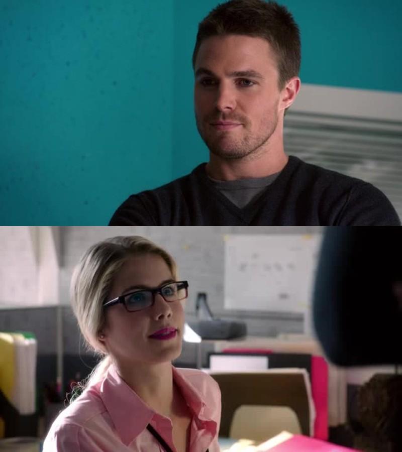 Felicity Smoak ? Hi I'm Oliver Queen 😍😍😍😍😍