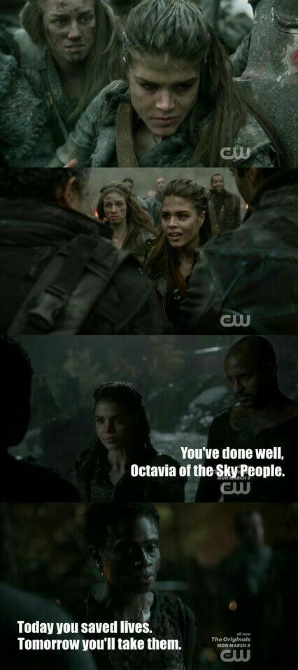 Octavia's development character is incredible.