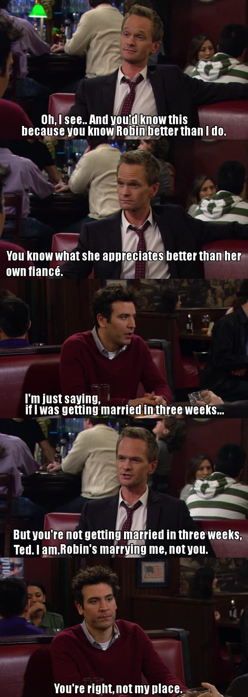 Frasi Di How I Met Your Mother Miglior Frase Impostata In Hd