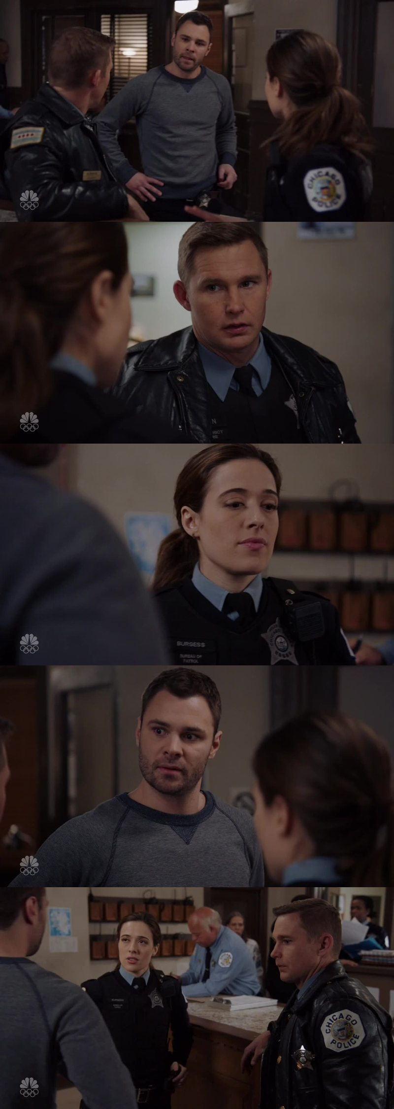 Adam was CLEARLY jealous in this scene. I kinda understand him, I think something is gonna happen between Kim and Roman, and it's gonna happen soon. MOVE YOU ASS, ADAM.