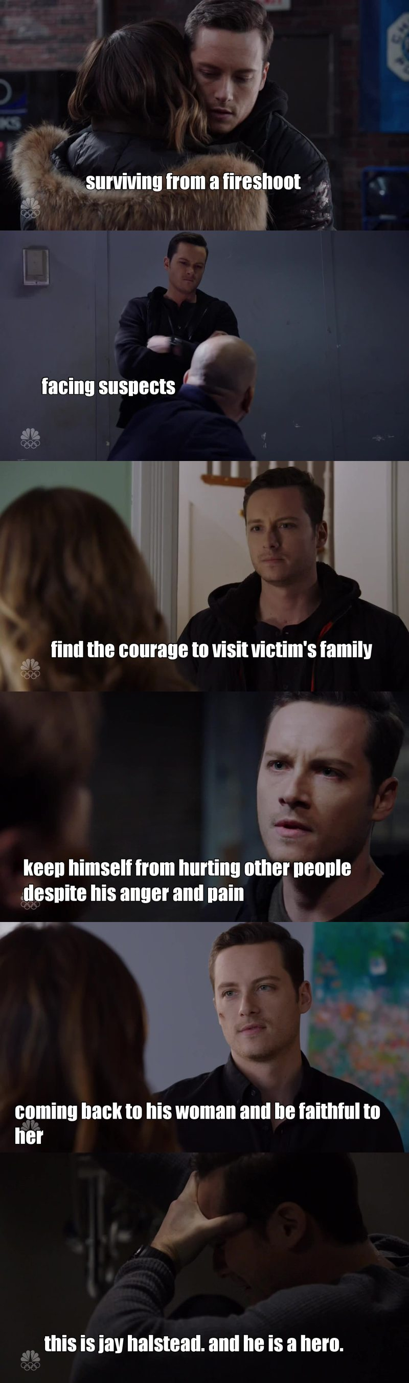 Jay's facing the same path that Erin lived with Nadia's death. Hope everything is gonna getting better for him