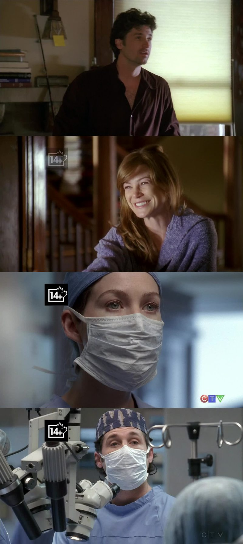 """When the episode started: """"Did I click on the right episode?""""  Even though I cried so much with the Derek's reference, I loved the episode!"""