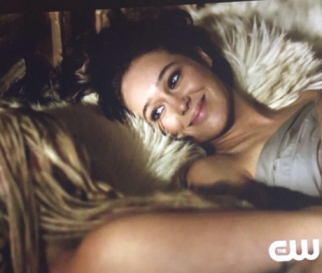 Look how truly happy she is. Let's just pretend that the episode ended here. Please