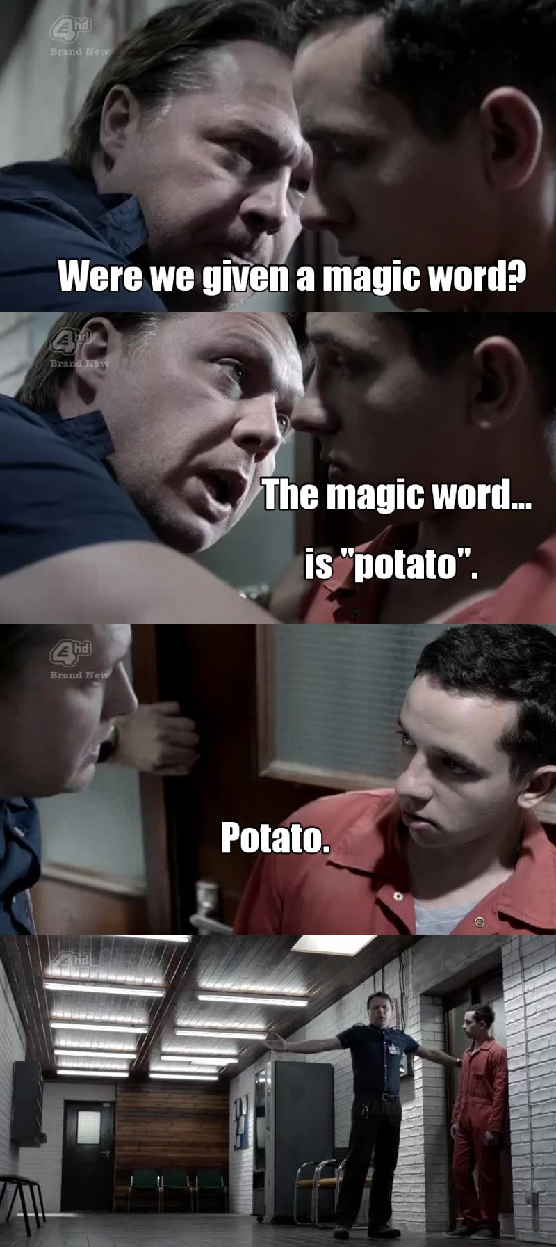 Potato is the new please