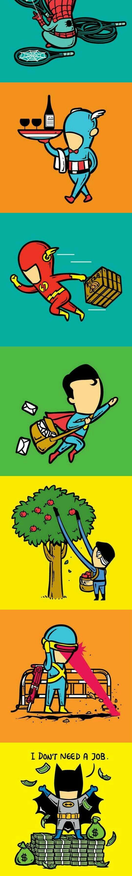 Marvel... DC.. Batman!!!!