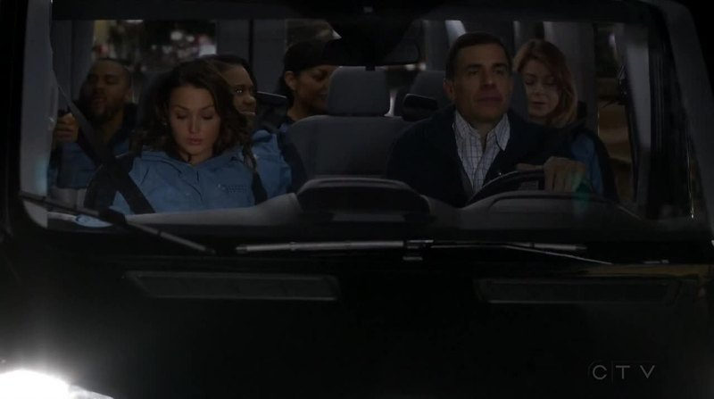 Am I the only one who thought about an imminent car accident when most of the main characters were together in the same car?