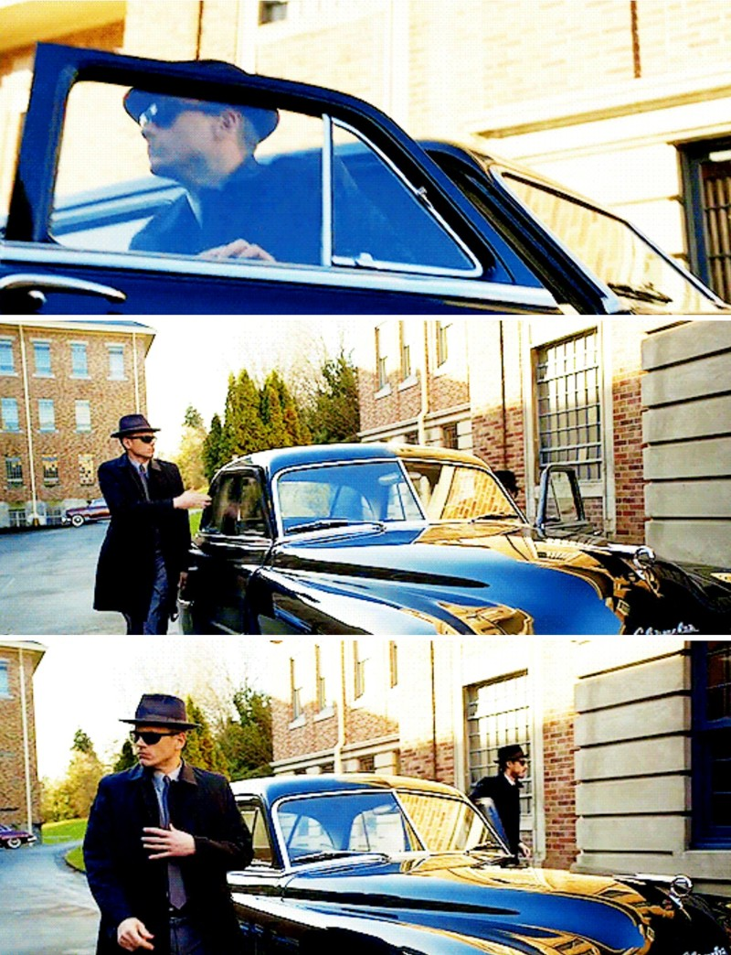 I loved Snart in 50s fashion ❤
