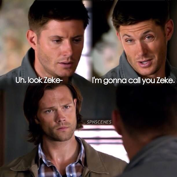 😂😂 dean's face, I can't stop laughing