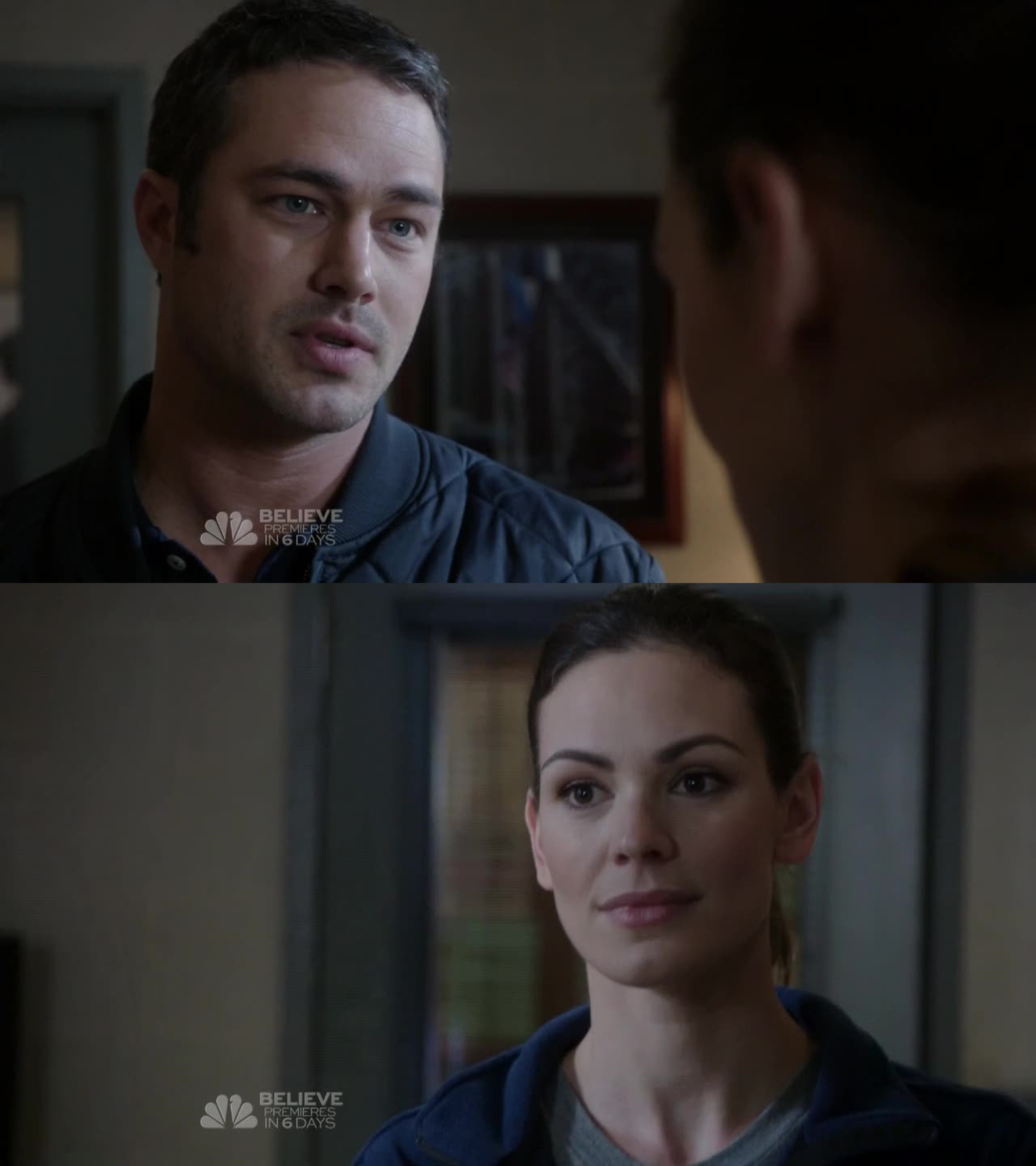 This scene was the best. Severide telling Jones to just shut up. Hell yes, please! Wish she would.
