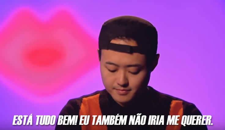 Não dá uma vontade de abraçar a Kim Chi? 💖