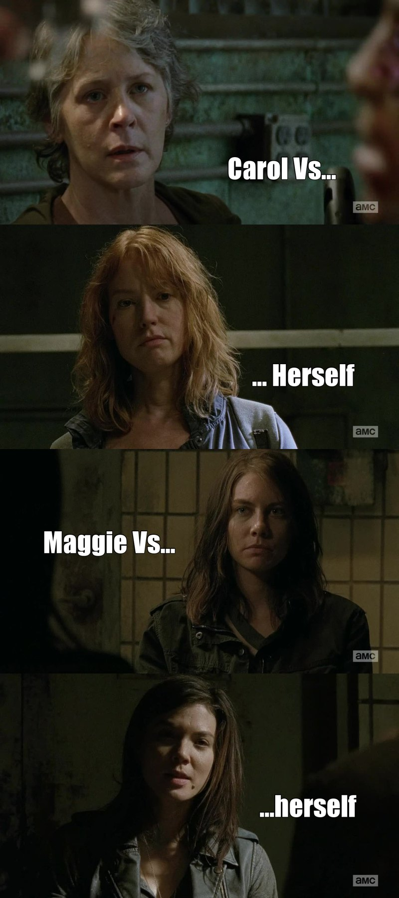 What an amazing mirroring of what they are. Carol and Maggie met their perfect counterparts... But who's the bad guys now?