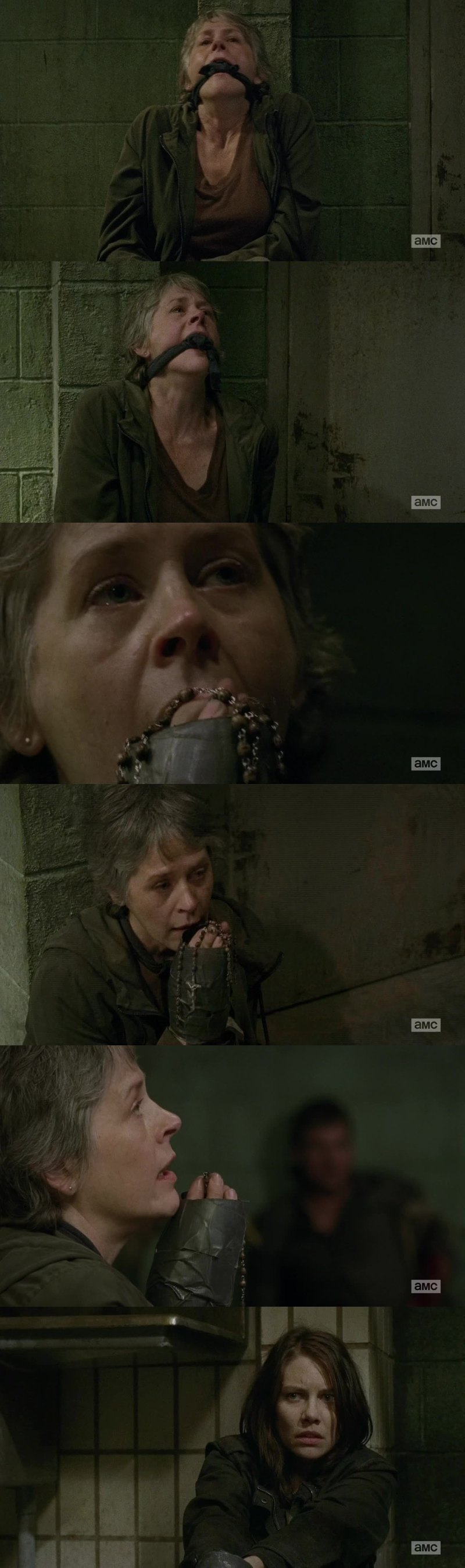 Maggie was like : what the fuck Carol, are you high? 😂😂