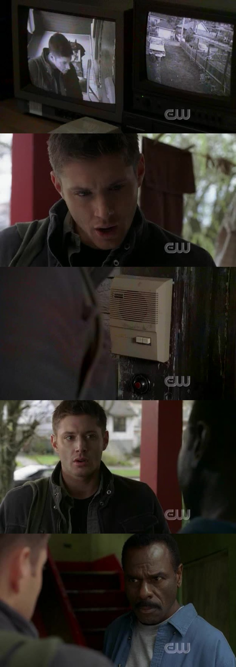 -I'm Dean Winchester, I'm a friend of Bobby Singer. -So? -You called him this morning. -So? -You told Bobby about a british chick, made contact with you. -Yeah, and so? -Do you know where she is? -Yeah. -Could you tell me where I can find her? -No. -Of course not. 😂😂😂😂😂😂😂 Melhor diálogo