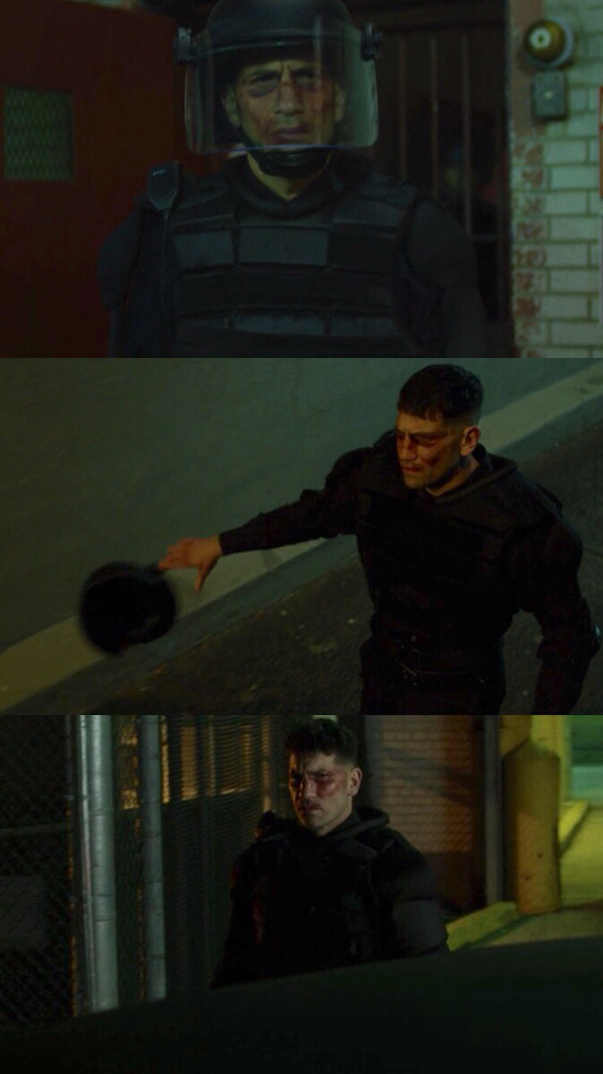 The Punisher is free.
