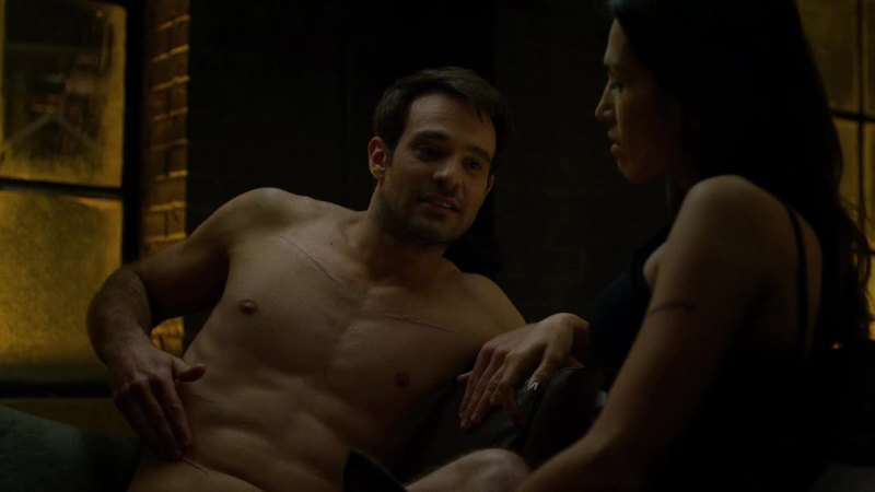 I want to thank not only god but jesus for shirtless charlie cox