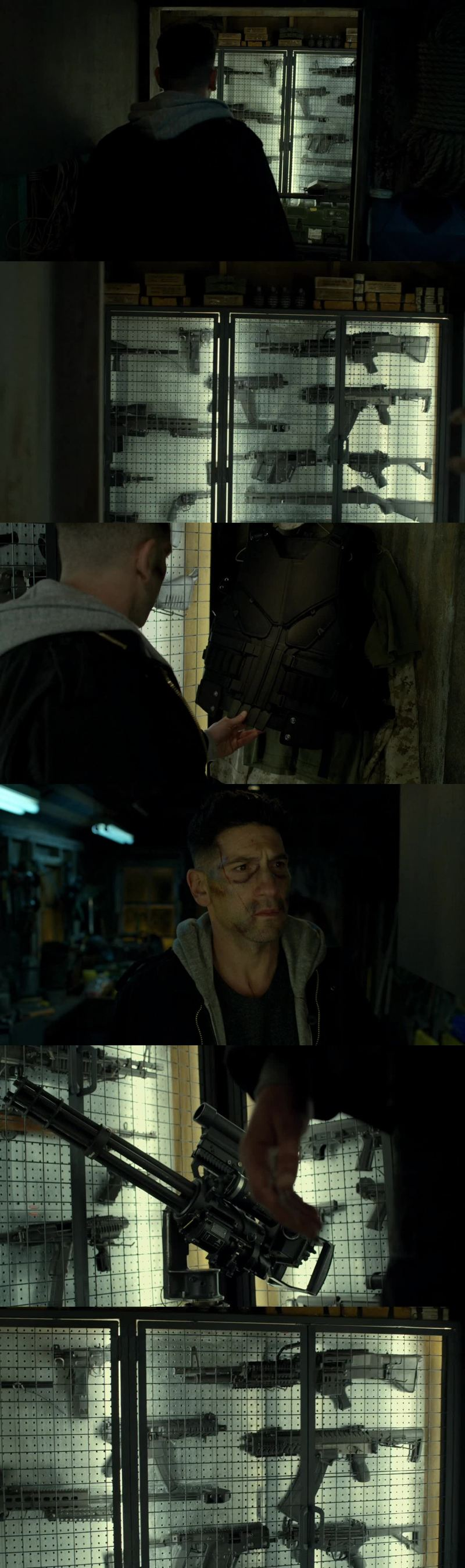 I believe the Punisher will go on a final, epic, tour of punishing in the final episode.. 😍