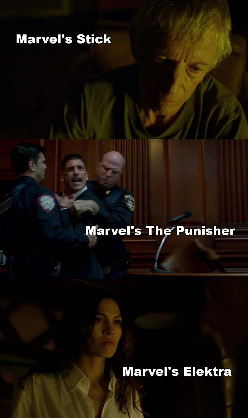 Every character that appears is so fucking good he/she deserves his/her own show. Even The Hand, and whoever controls Frank. Even Fisk. This is so awesome.