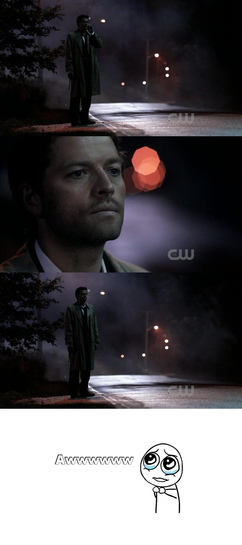 Can we take a moment to appreciate how adorable Castiel is?