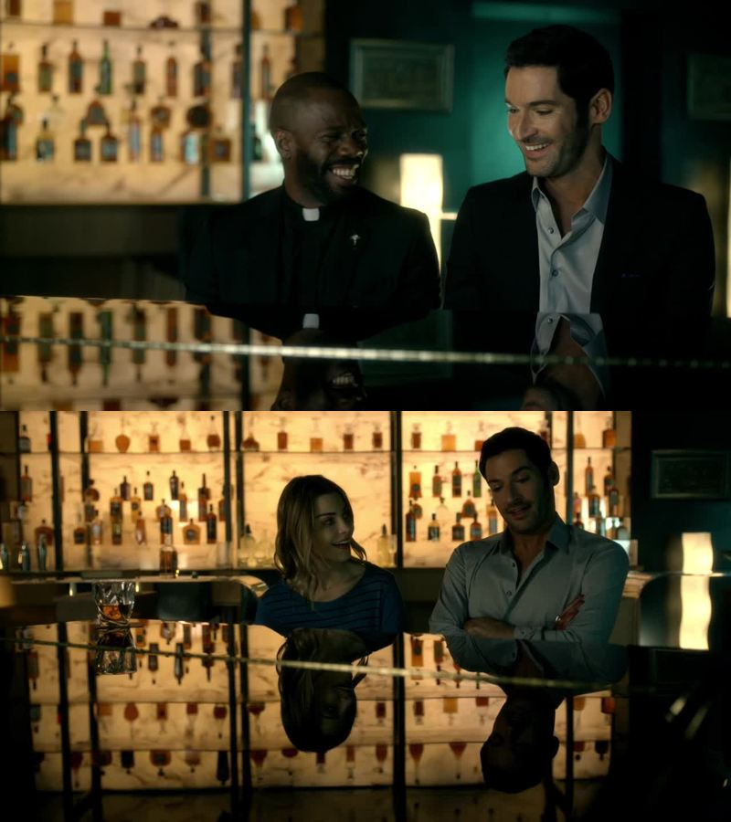 I really liked the piano scenes in this episode 😍😂 saddly father frank died....would've loved to see more of him and lucifer Lucifer can be so charming ...but he is really scary when he is angry ...well played tom 👍