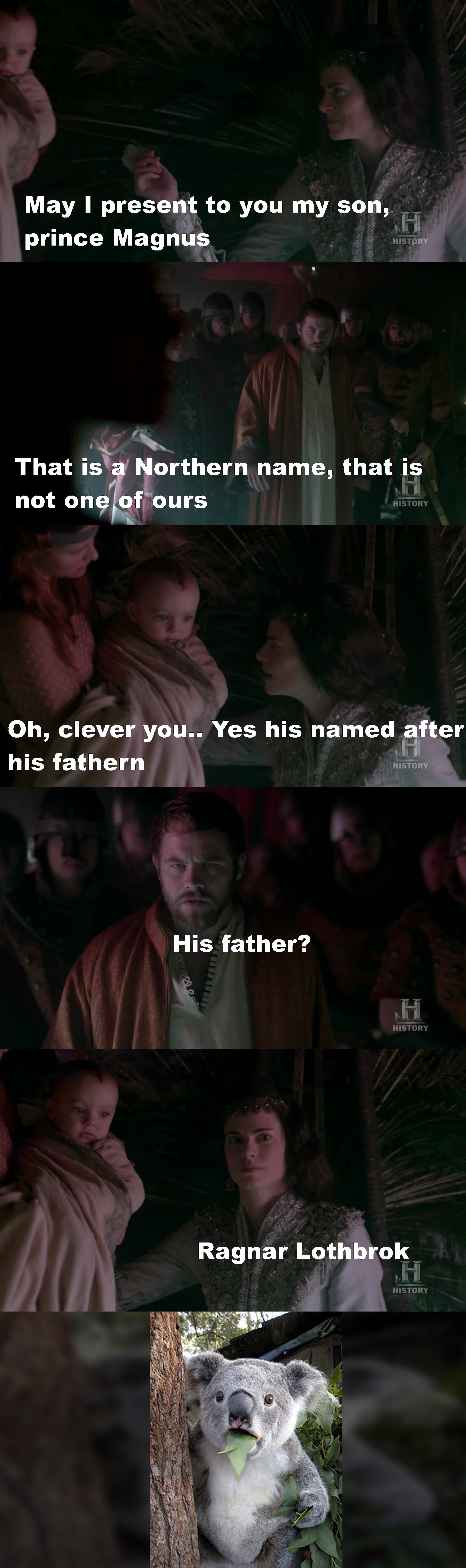 another son for Ragnar !