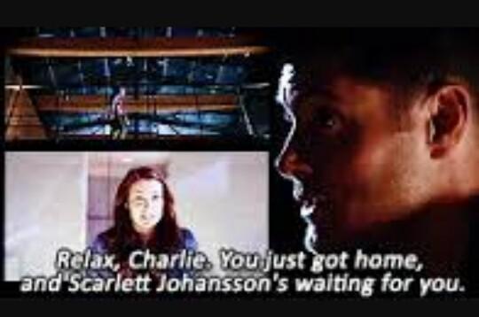Ahahaha 😂 Dean and charlie  are fantastic