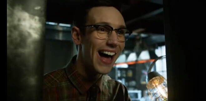 Nygma's reaction to penguin #purejoy #realfriendship 😍