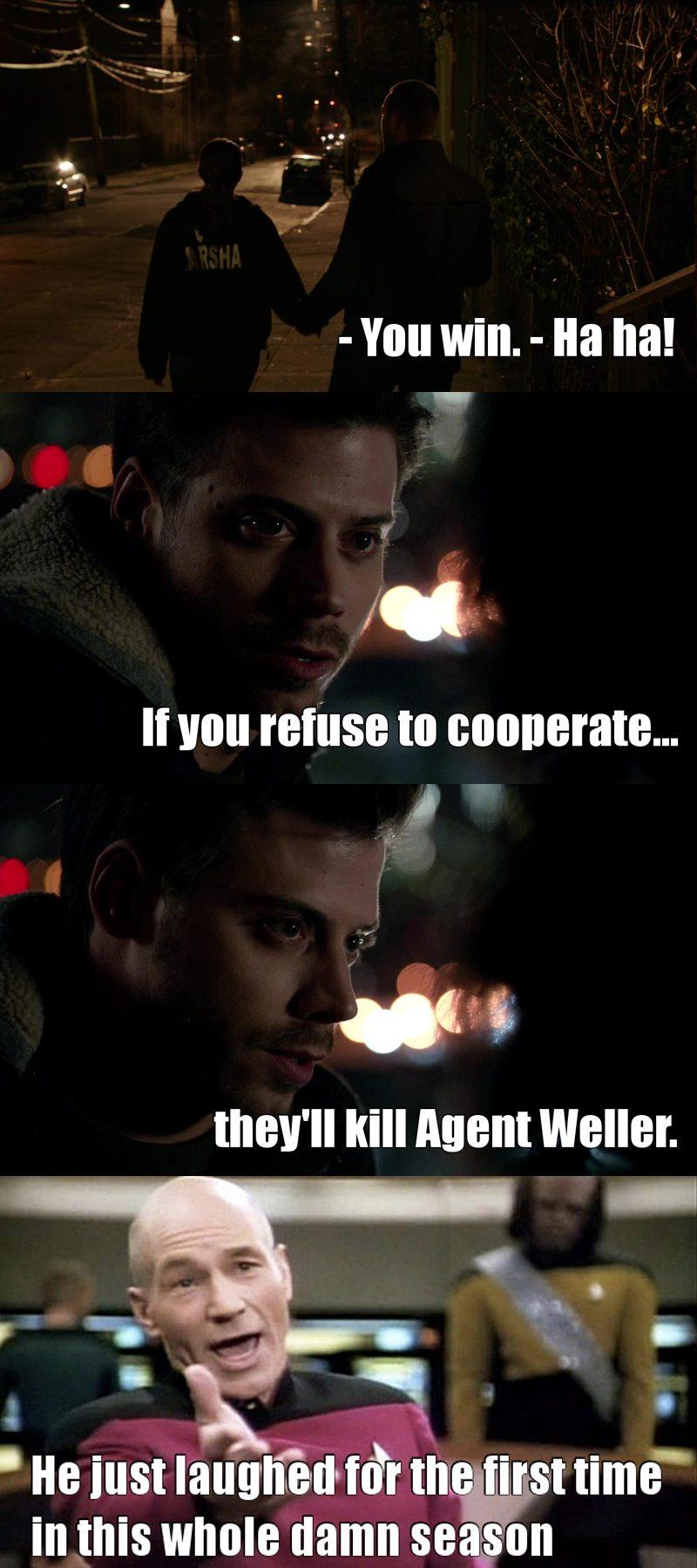 Poor Weller !