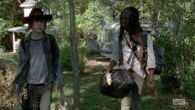 the relation between michonne and carl💯😻