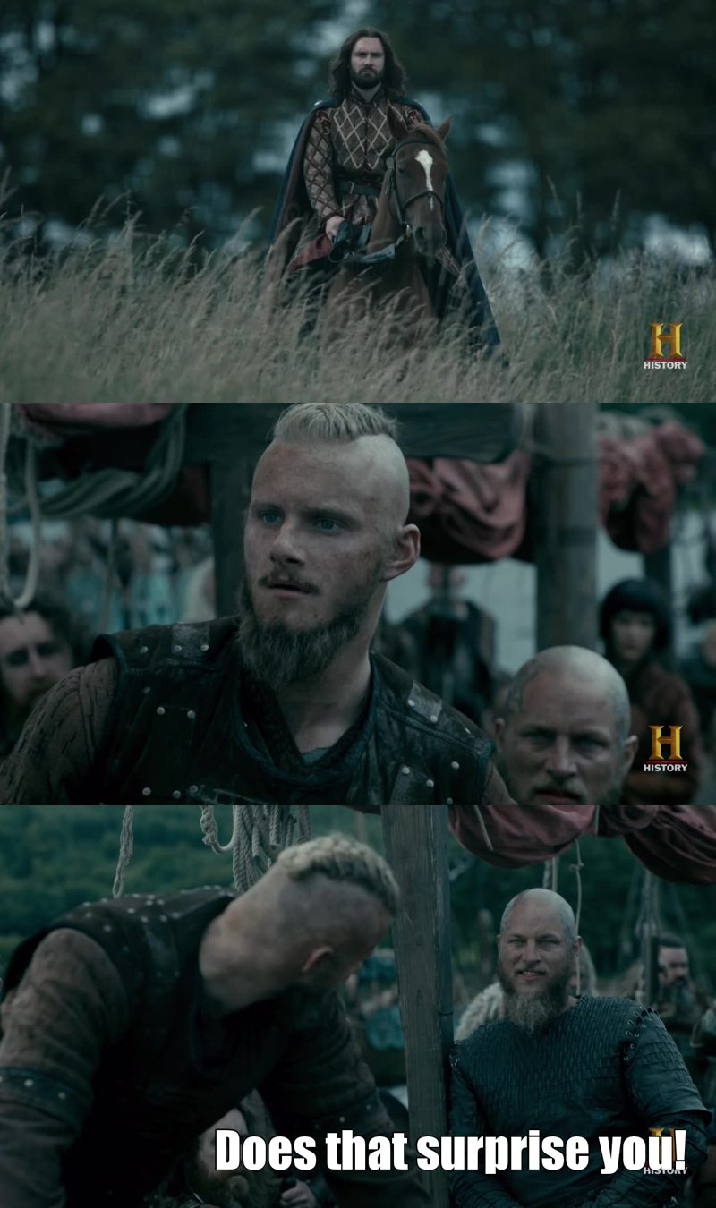 The king Ragnar knows!