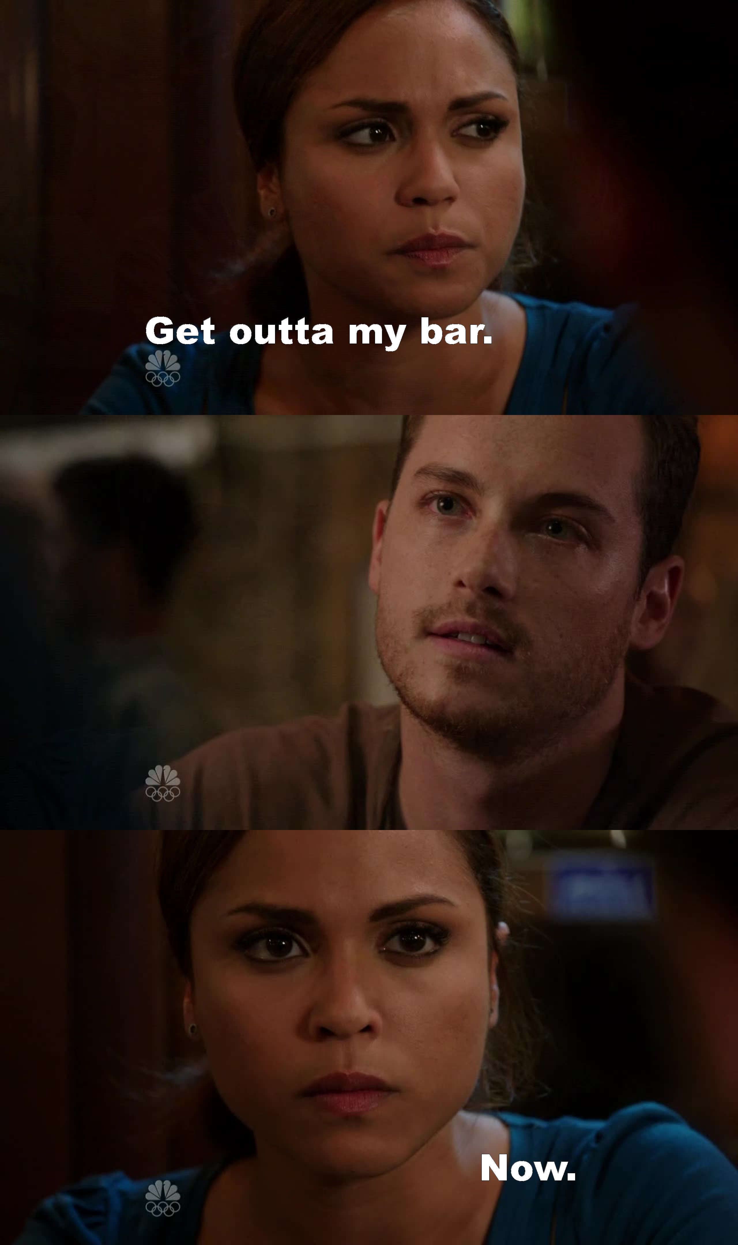 Poor Dawson! She deserves the best, she deserves Matt!