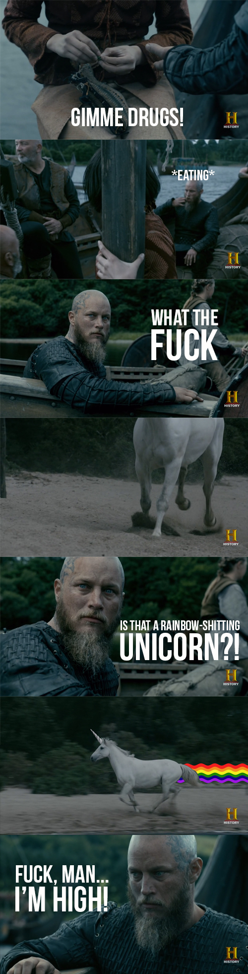 What actually happened inside Ragnar's mind: