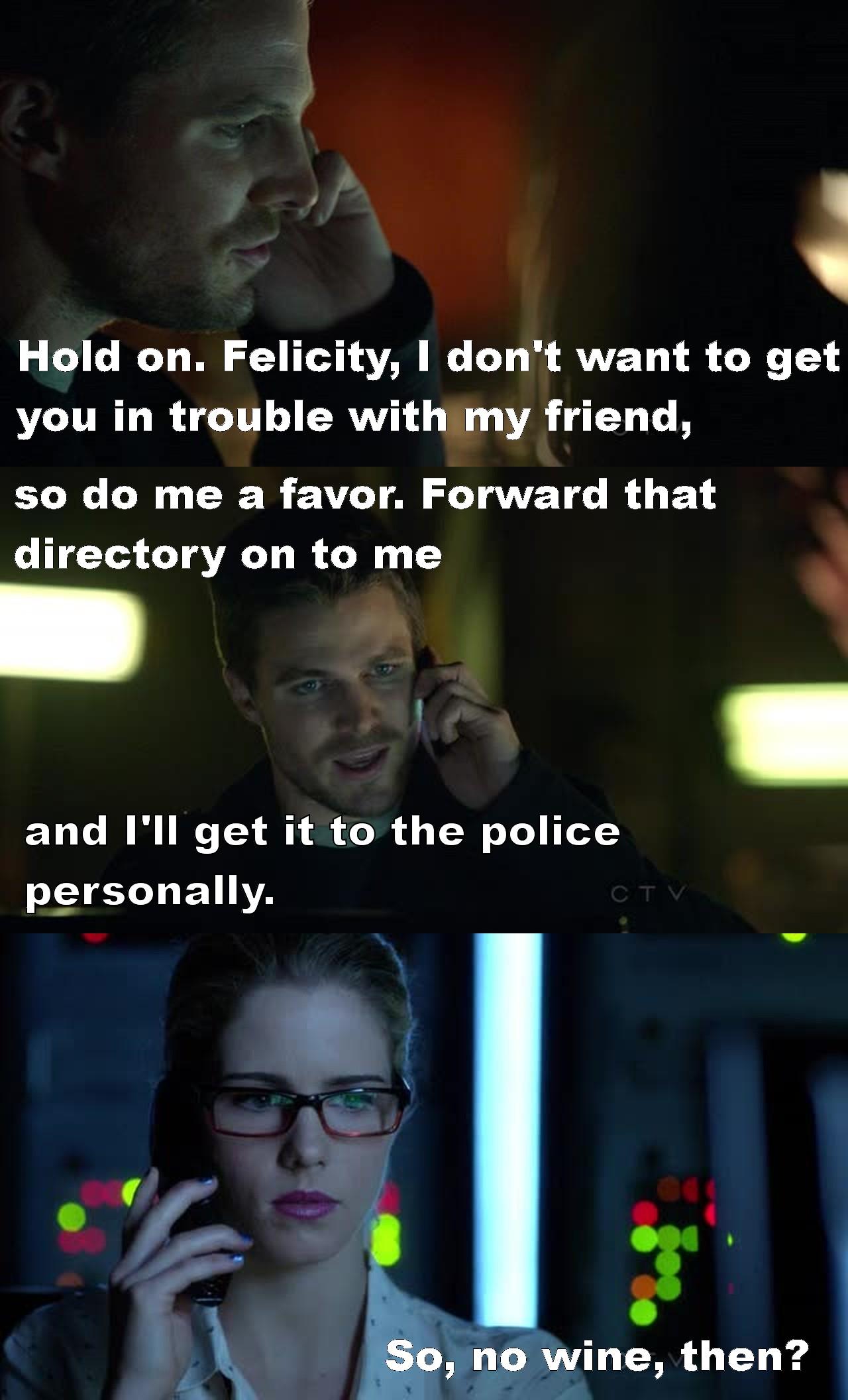 I love Felicity! :')